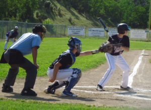 Bigalow at the plate